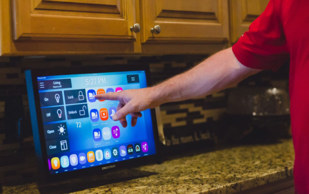 Home Automation Touch Screen