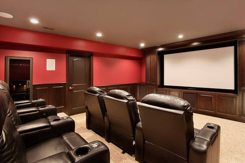 Home Theater Sound & Projector