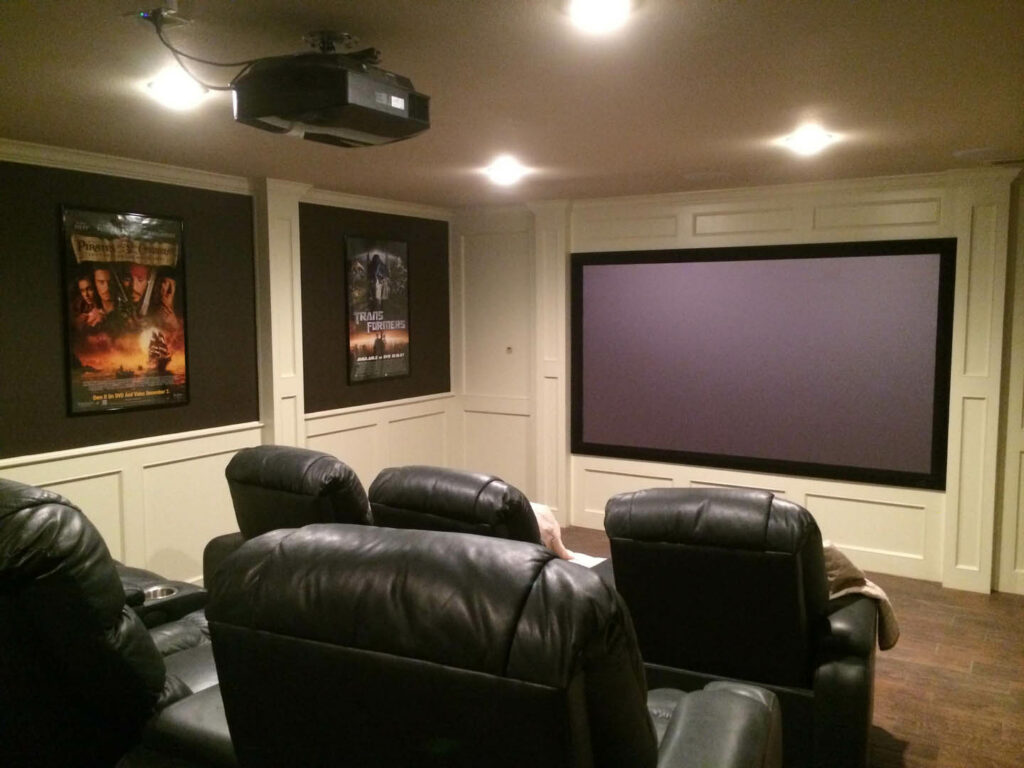 Lubbock Home Theater Install