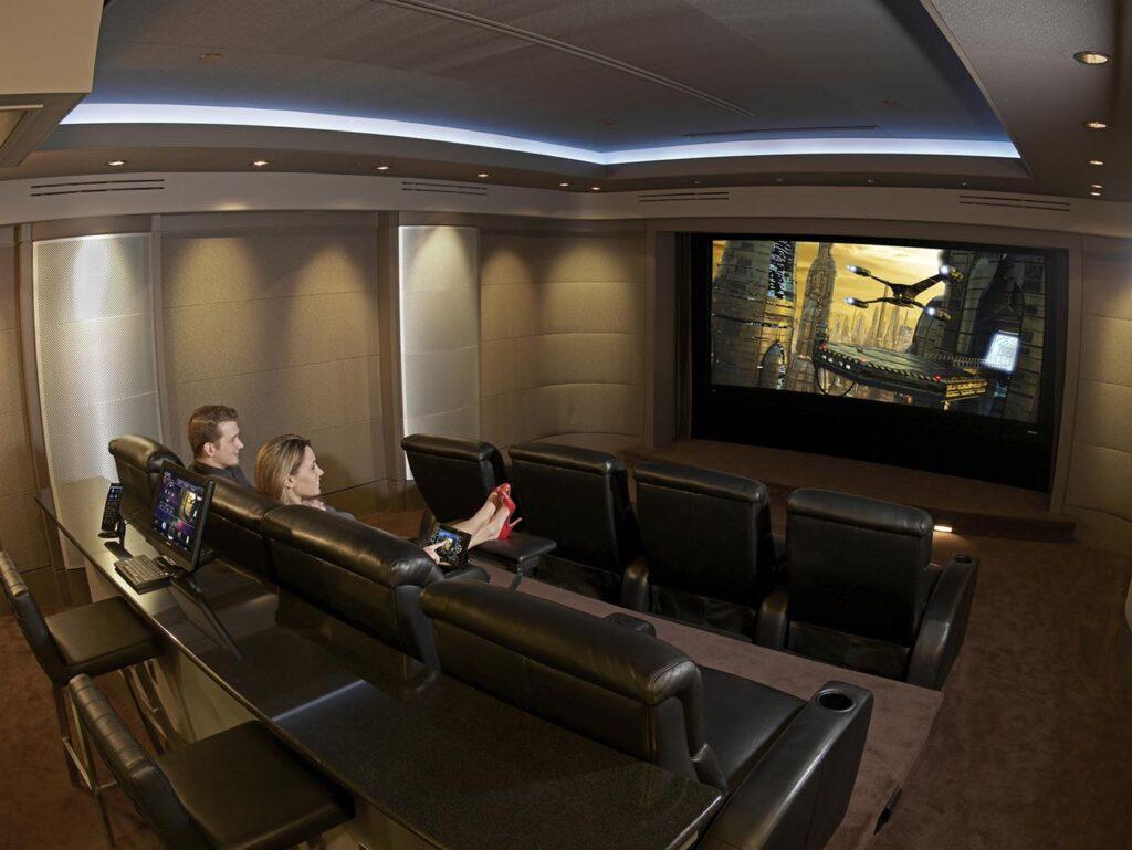 New Home Movie Room Install