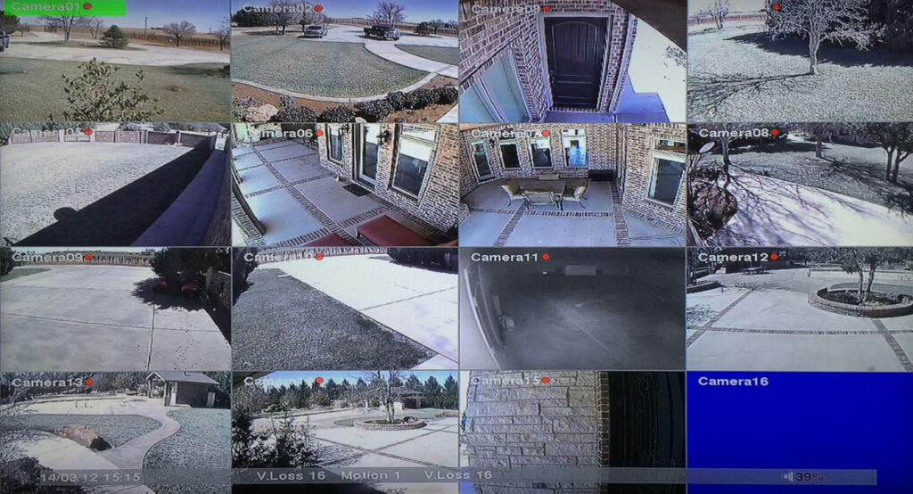Security Surveillance Monitoring Camera