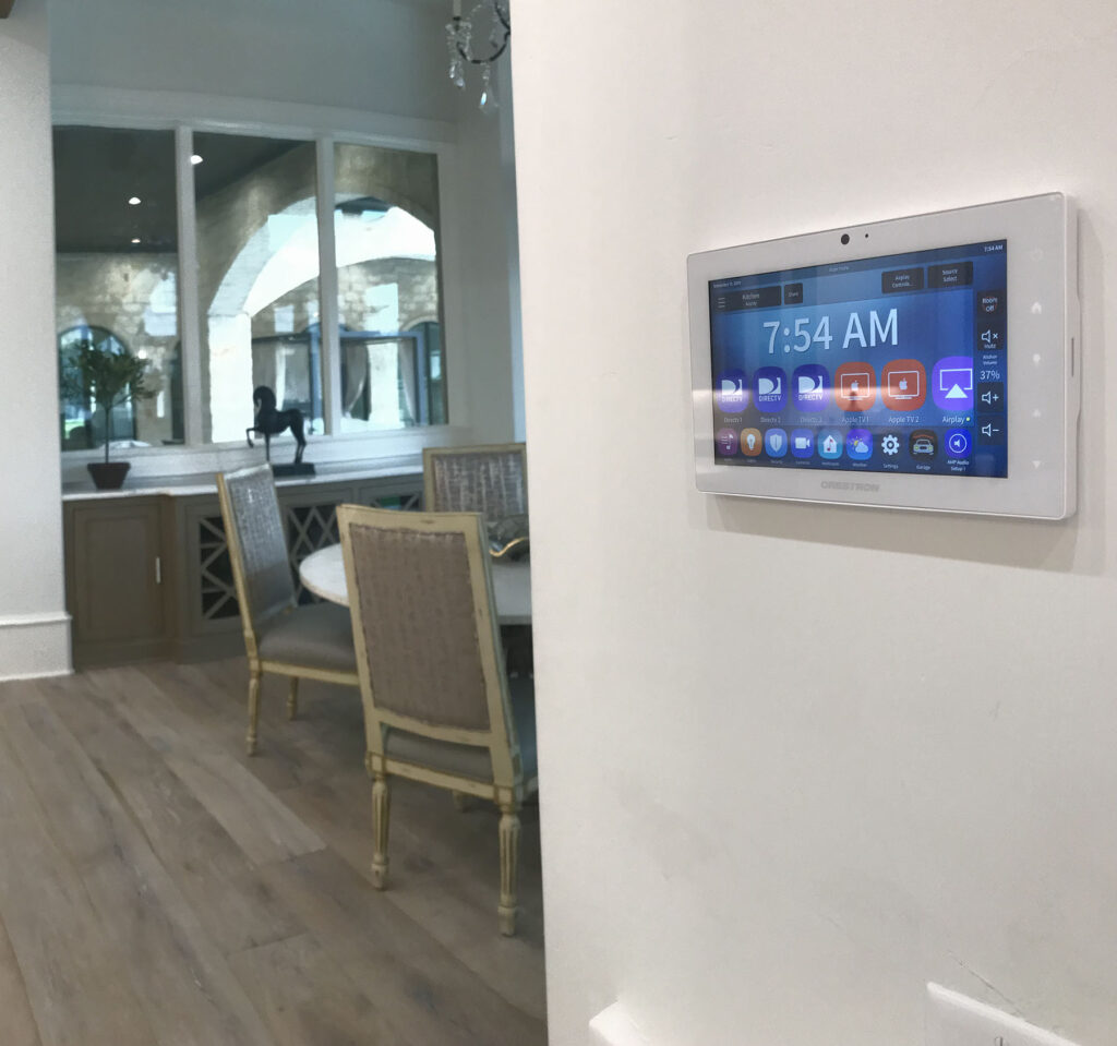 Smart Home Panel Room Control