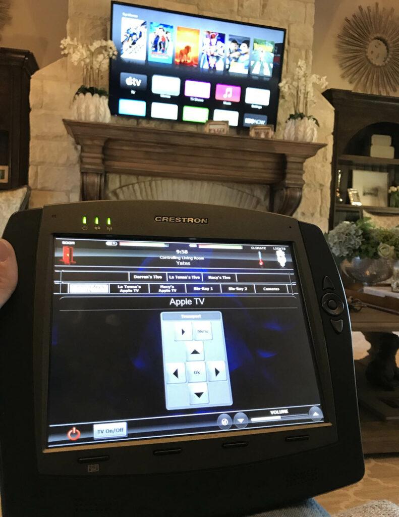 Smart Home Panel TV Remote